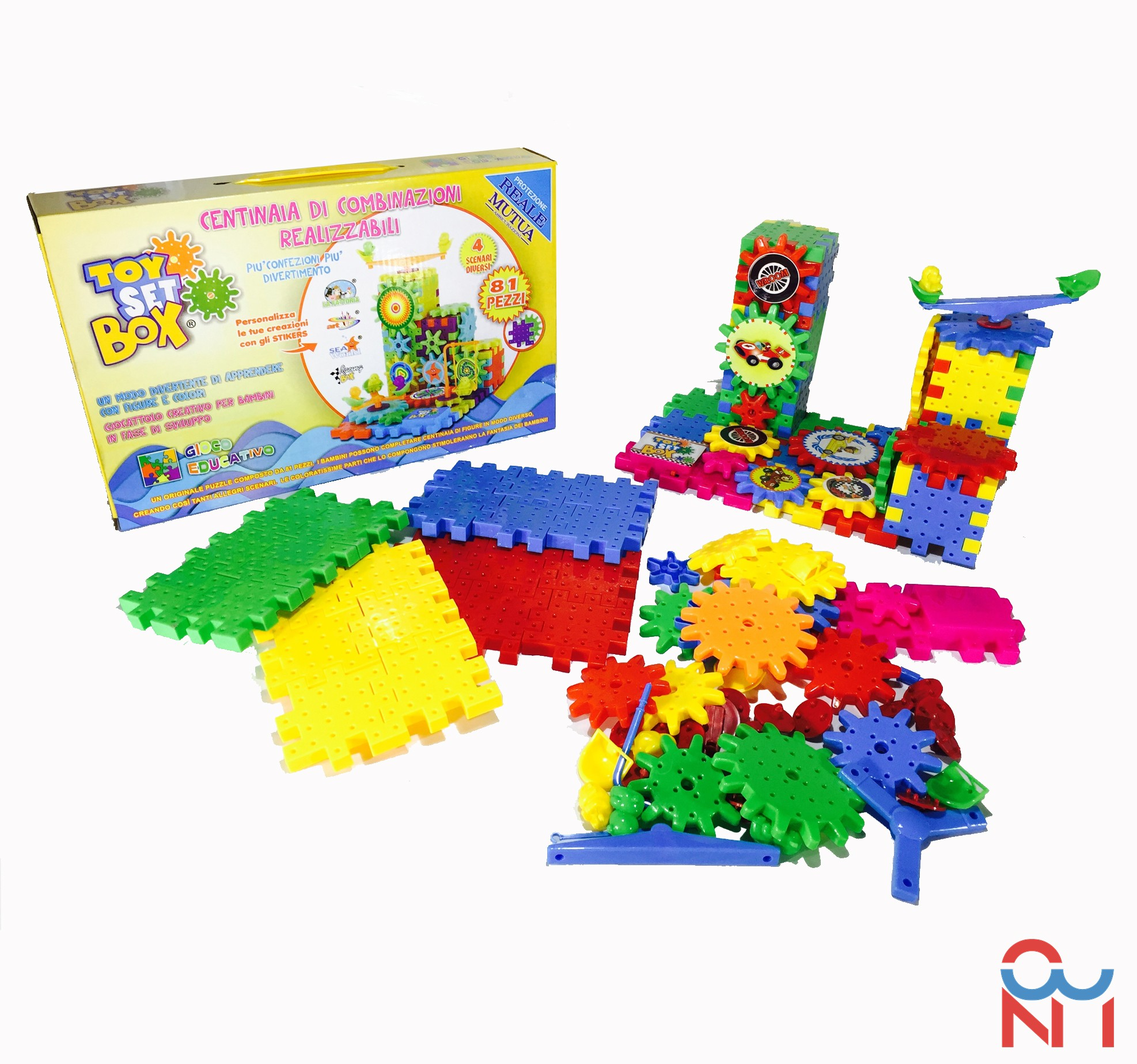 TOY SET BOX - IL GIOCO EDUCATIVO